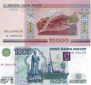Калькулятор курса белорусского рубля к российскому рублю