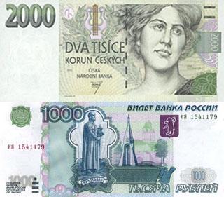 Калькулятор курса чешской кроны к рублю