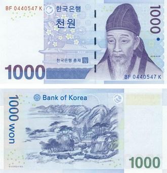 Калькулятор курса корейской воны