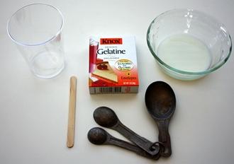 Сколько грамм в столовой ложке желатина