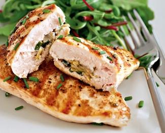 Сколько калорий в куриной грудке