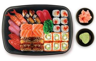 Cколько калорий в суши
